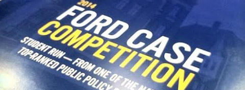 Link to:Michigan Daily highlights the Ford School's inaugural case competition