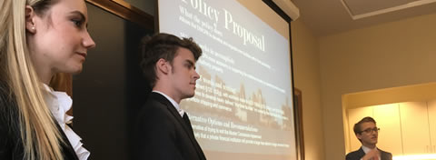Link to:Ford Case Competition addresses real-world policy issues, highlights Ford School