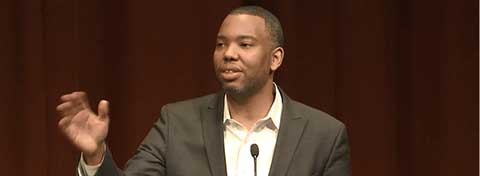 Link to:Coates talks race and reparations during U-M's 2015 MLK Symposium