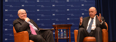 Link to:A conversation on leadership and foreign policy