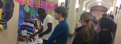 Link to:Ford student groups host Día de los Muertos ofrenda and vigil for Black Lives Matter
