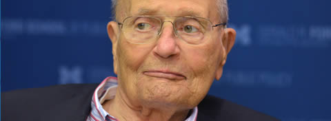 Link to:The Ford School honors Congressman John Dingell