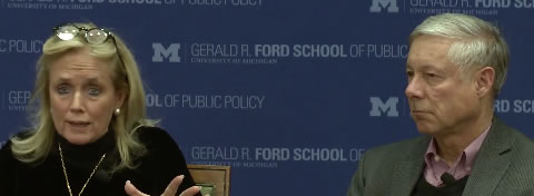 Link to:United they stood: News roundup of Reps. Dingell and Upton discussion at the Ford School