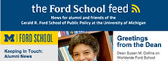 Link to:'Ford School feed'—Worldwide Ford School Spirit Day, Robert Axelrod and the Johan Skytte Prize, 2014 Bohnett Fellows, and more.