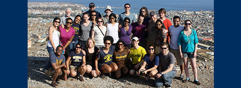 Link to:Ford School students travel to Cape Verde for 2013 IEDP