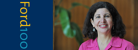 Link to:The Ford School welcomes Susan Guindi, the new director of Student and Academic Services