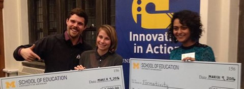 Link to:Megan Blair (MPP '16) wins Innovation in Action competition for early learning social enterprise