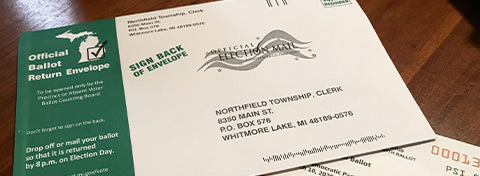 Link to:Local government leaders in Michigan generally back expanded absentee voting, other ballot reforms