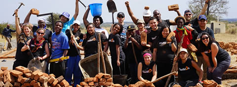 Link to:Laying the foundation, Leah Ouellet (AB '13) and 17 Detroit teens build a Malawi school