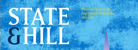 Link to:Fall edition of State & Hill examines the power of policy