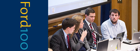 Link to:Students tackle Great Lakes policy challenges in Integrated Policy Exercise