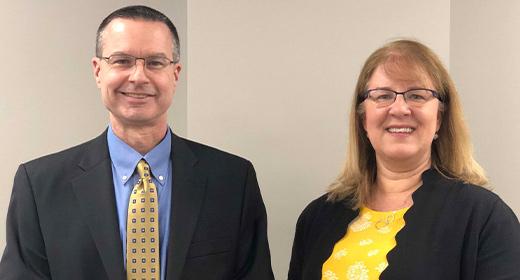 Photo of Tom Ivacko and Debra Horner