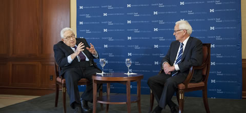 Link to:Henry Kissinger and Paul O'Neill: Policy Reflections