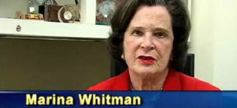Link to:Marina v.N. Whitman: Stimulus Plan Challenges
