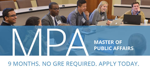 Link to:Master of Public Affairs (MPA)