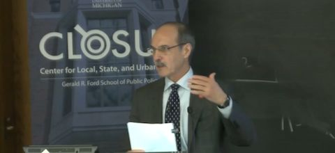 Link to:Michael Pagano: Fiscal policy space: Changing the discourse from city fiscal condition to city fiscal behavior