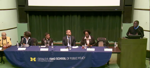 Link to:Common Ground: A Dialogue Across Decades of Student Activists at Michigan panel