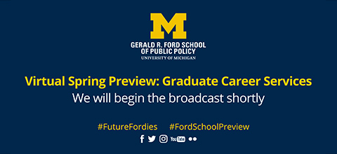 Link to:Virtual Spring Preview: Graduate Career Services