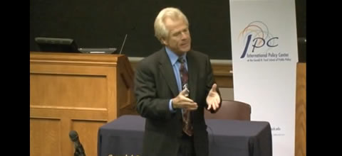 Link to:Peter Navarro & Phil Potter: U.S.-China Relations: Cooperation or Conflict?