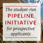 The student-run pipeline initiative for prospective applicants
