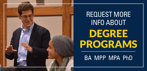 Link To: Request more information about degree programs