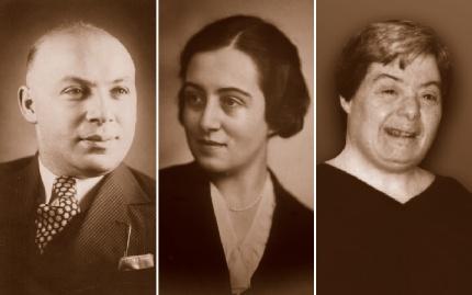 Karl Kohn, Martha Kohn, and Arlene Susan Kohn