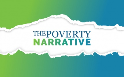The Poverty Narrative project logo