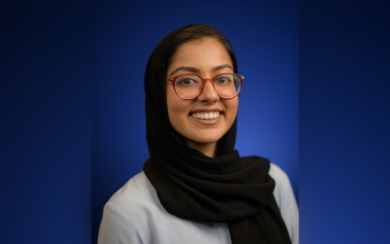 Headshot of Ruqayya Ahmad (MPP '21)