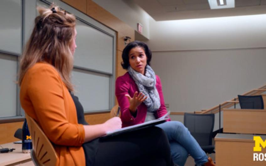 Featured video from Fintech career talk with Adrienne Harris