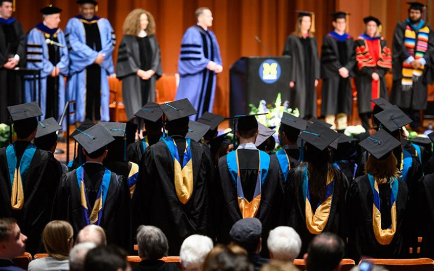 Commencement 2019 with speaker Michele Norris