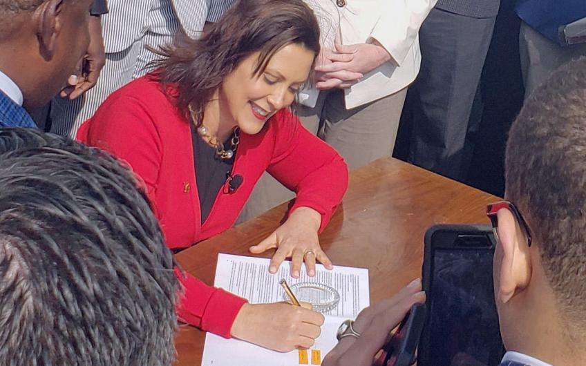 Governor Whitmer signs auto insurance reform legislation into law