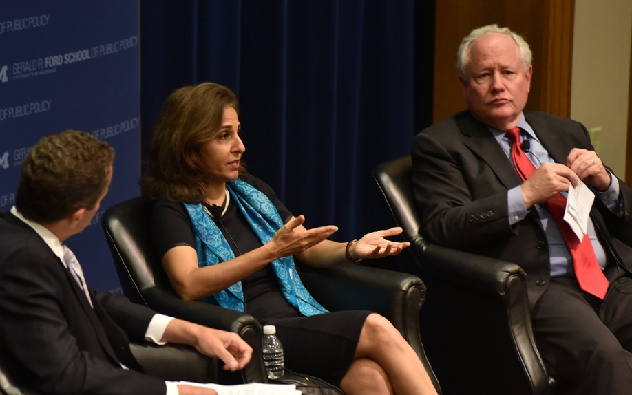 Dean Michael S. Barr, Neera Tanden, and William Kristol