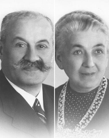 Hermann and Amalie Kohn
