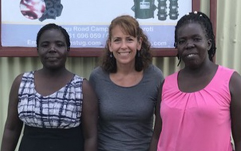 Sylvia Herzog, The Charcoal Project, with Betty Ikalany and Helen Acuru, AEST Ltd. Uganda