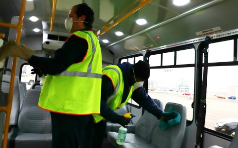 SMART bus cleaning