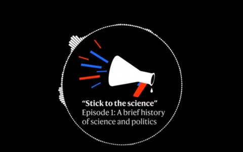 Link to: Stick to the science podcast - Episode 1: A brief history of politics and science