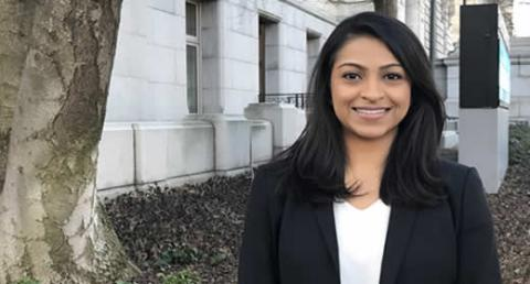 Anita Ravishankar will use her Rackham Grants in Public Scholarship award to research trust and legitimacy between police and communities in Washington, DC.