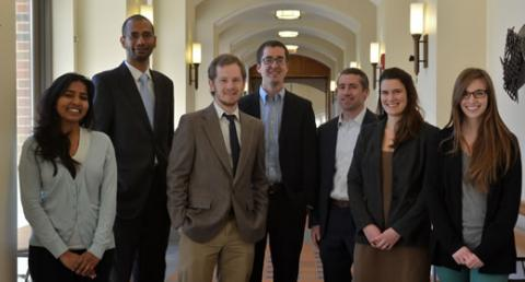2015 Dow Sustainability Fellows from the Gerald R. Ford School of Public Policy