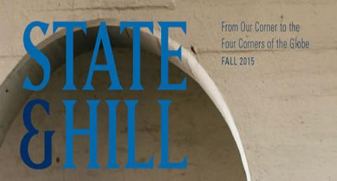 Fall edition of State & Hill examines global and human security, Bob Axelrod's research on cooperation, the irrepressible First Lady Betty Ford, more image