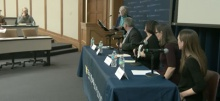 Link to:Sexual Assault on U-M Campus: Challenges, Policy, & Prevention panel