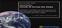 Link to:Special Webinar COVID 19 Across the Globe