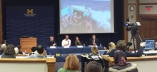 Link to:The Refugee Crisis: Who makes it to safety? panel