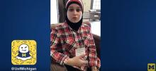 Link to:Nadine Jawad: U-M Snapchat Truman Scholar Leadership Week