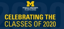 Link to:Ford School Class of 2020: Celebratory messages