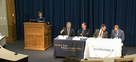 Link to:U.S. macroeconomic policy: Steps toward recovery panel