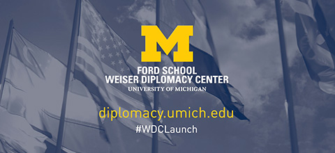 Link to:The Weiser Diplomacy Center Launch Series