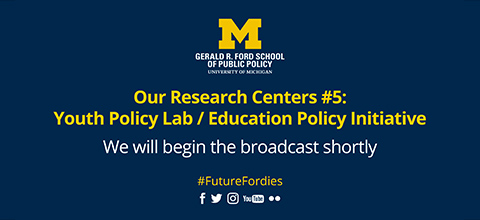 Link to:Our Research Centers: Youth Policy Lab/Education Policy Initiative